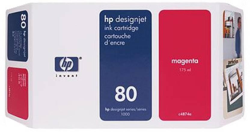 HP 80 350 ml Magenta Ink Cartridge