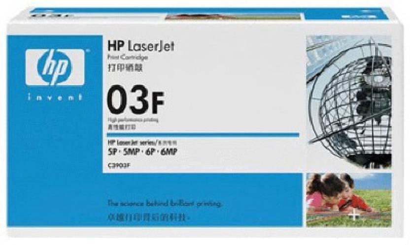 HP 03F Black LaserJet Toner Cartridge