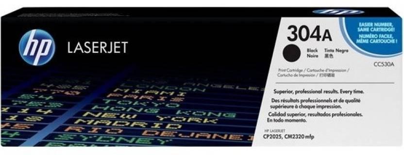 HP Color LaserJet CC530A Black Print Cartridge