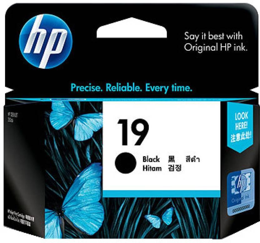 HP 19 Black Inkjet Print Cartridge