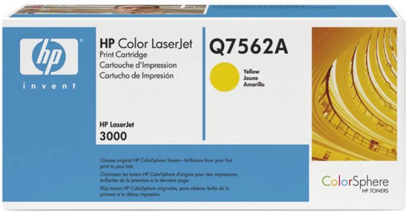 HP Color LaserJet Q7562A Yellow Print Cartridge