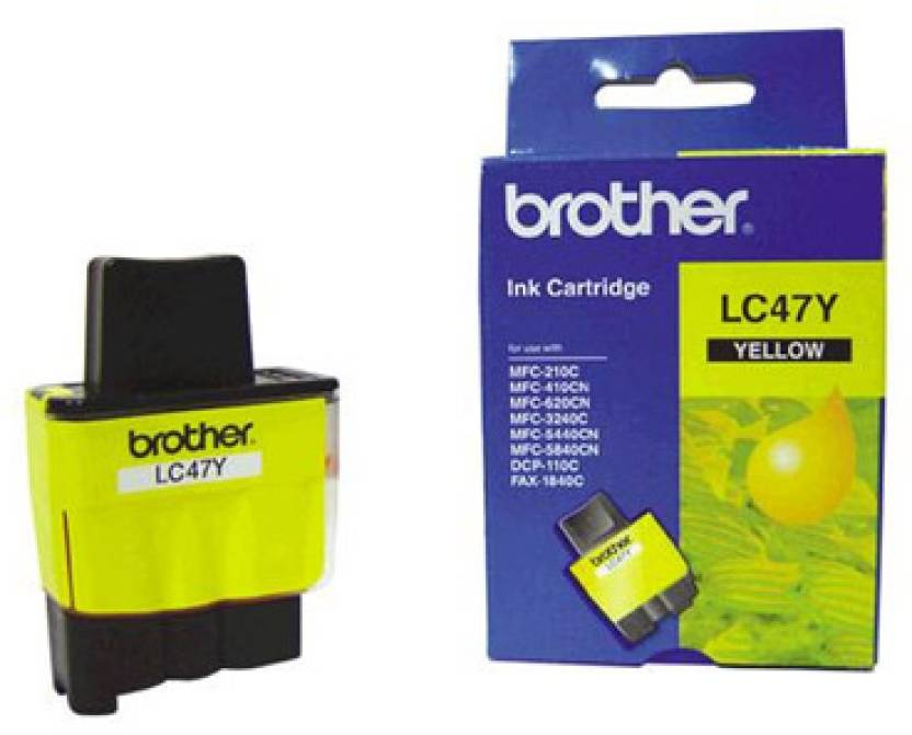 Brother LC 47Y Ink cartridge