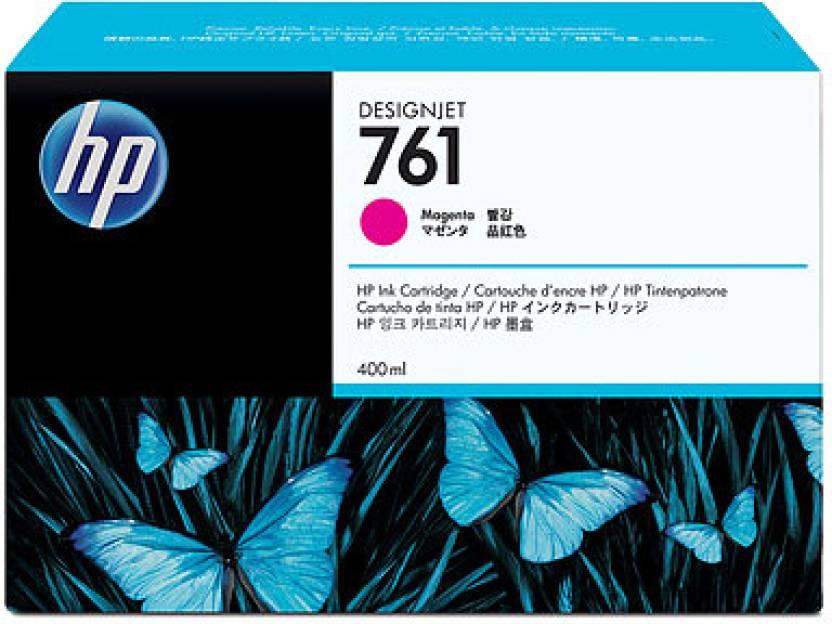 HP 761 400 ml Magenta Designjet Ink Cartridge