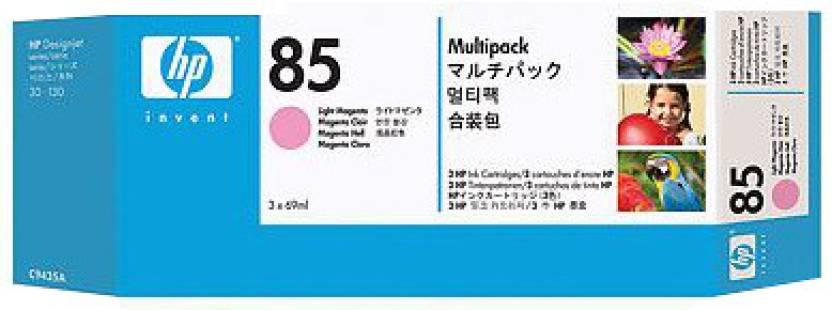 HP 85 3-pack 69-ml Light Magenta Cartridges