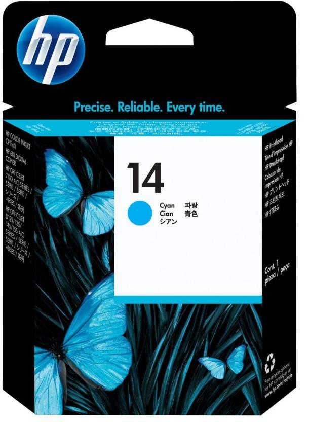 HP 14 Cyan Printhead