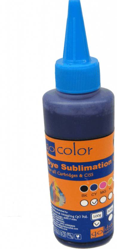 GoColor Epson Sublimation Ink Single Color Ink
