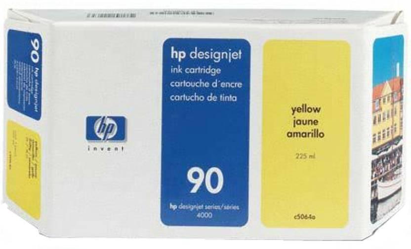 HP 90 225-ml Yellow Ink Cartridge