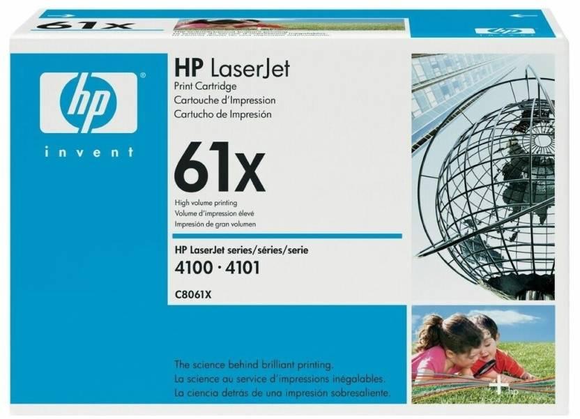 HP 61X Black LaserJet Toner Cartridge