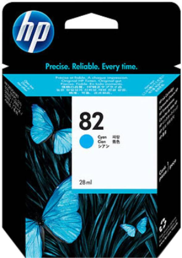 HP 82 69-ml Cyan Ink Cartridge