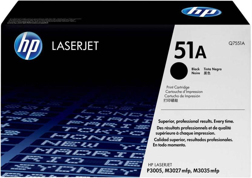 HP LaserJet 51A Black Toner Cartridge