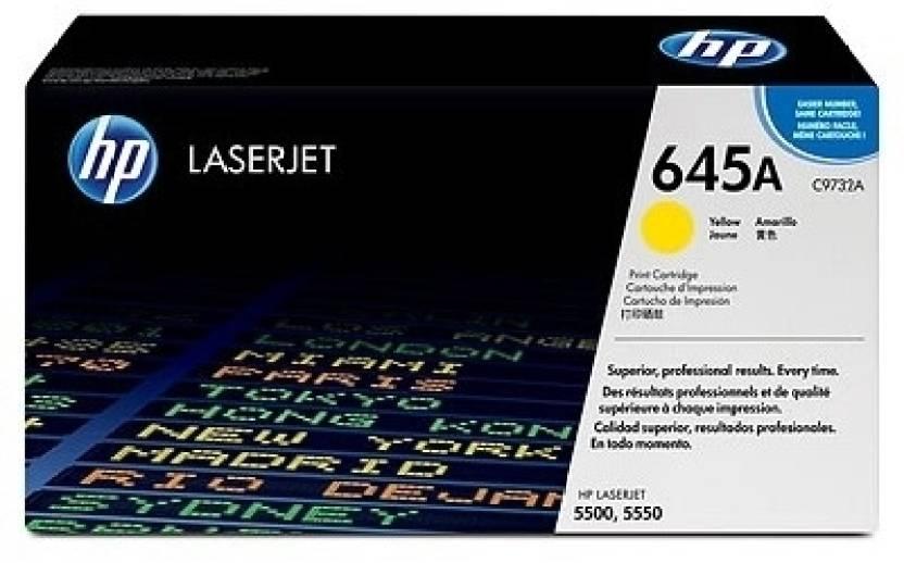 HP Color LaserJet C9732A Yellow Print Cartridge