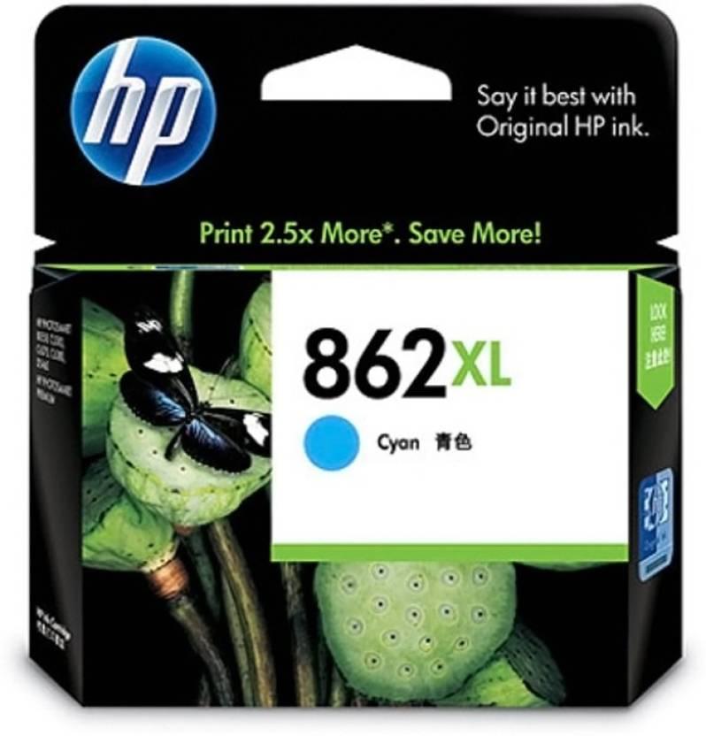 HP 862XL Cyan Ink Cartridge