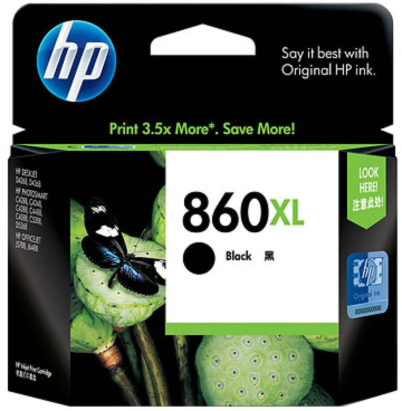HP 860XL Black Ink Cartridge