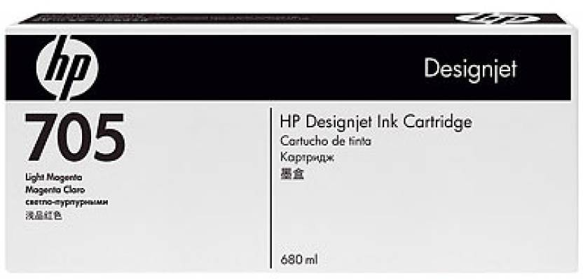 HP 705 Light Magenta Ink Cartridge
