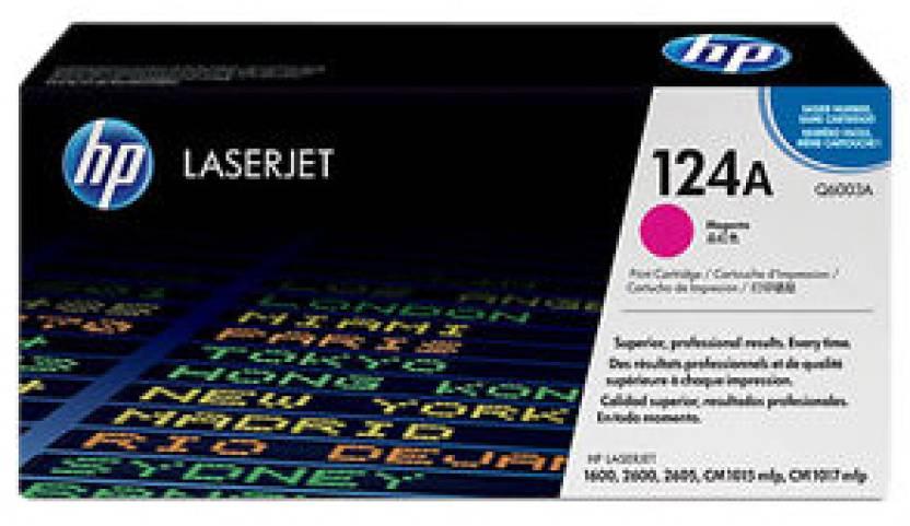 HP 124A Magenta LaserJet Toner Cartridge