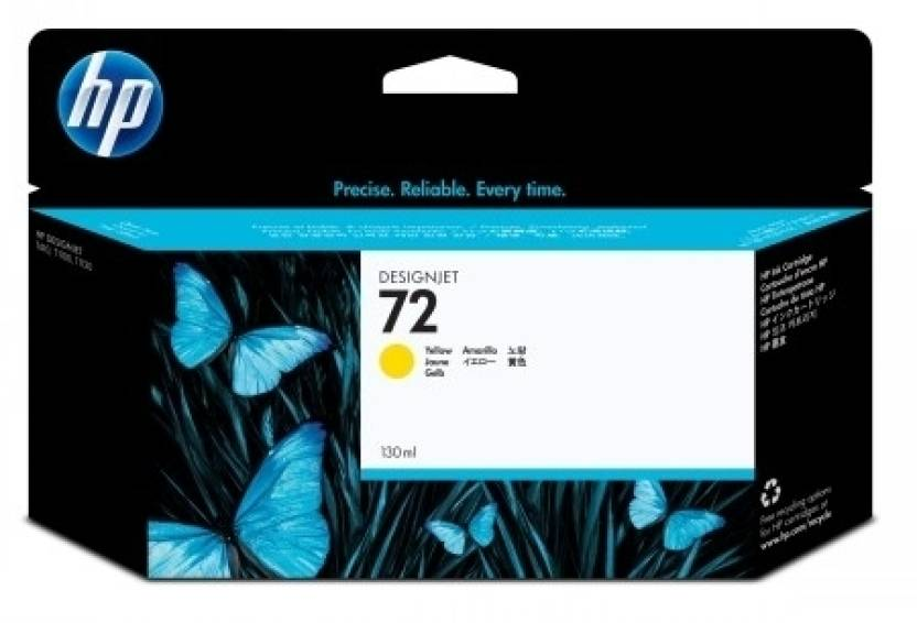 HP 72 130-ml Yellow Ink Cartridge