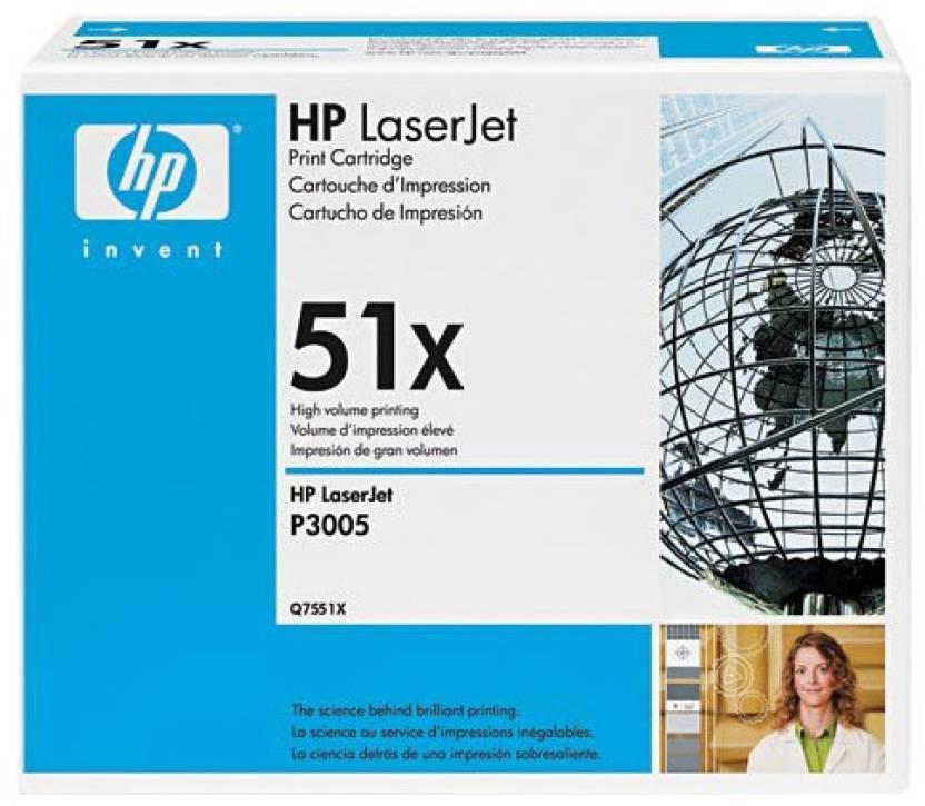 HP 51X Black LaserJet Toner Cartridge