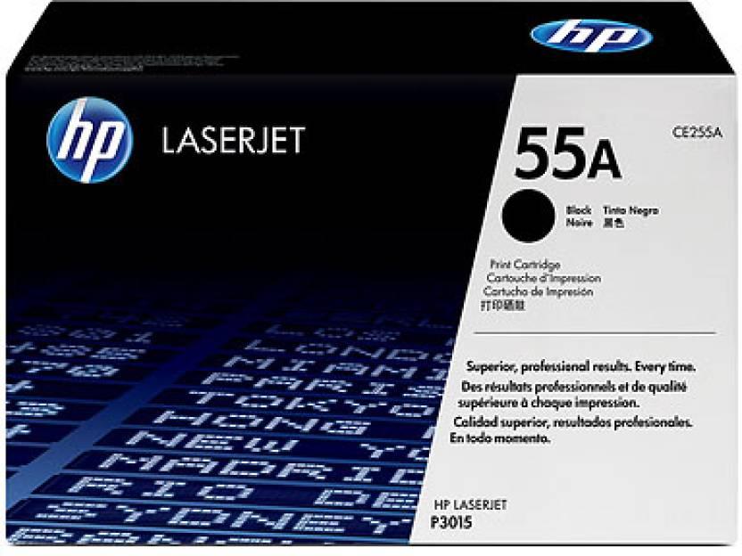 HP LaserJet 55A Black Toner Cartridge