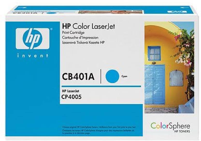 HP Color LaserJet CB401A Cyan Print Cartridge