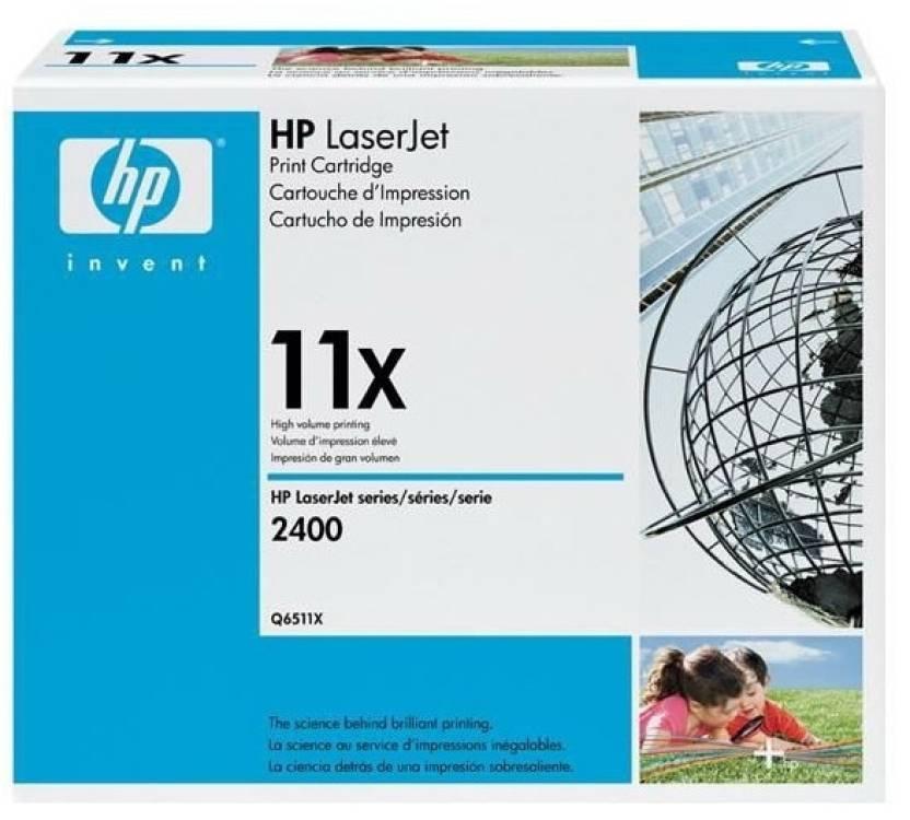 HP 11X Black LaserJet Toner Cartridge