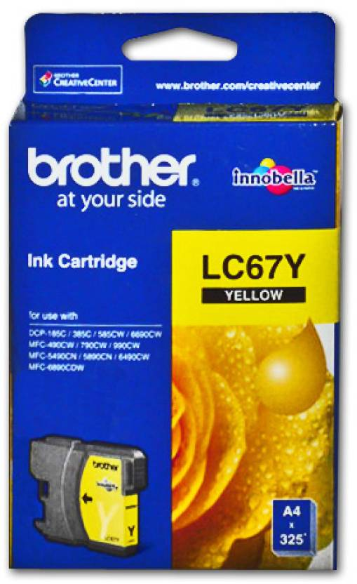 Brother LC 67Y Ink cartridge