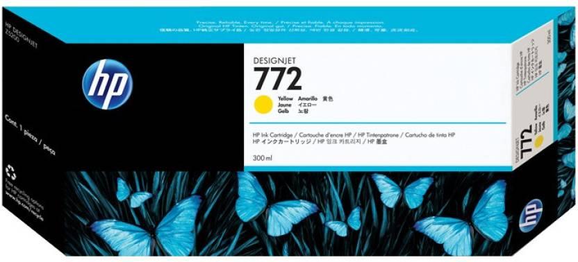 HP 772 300 ml Yellow Designjet Ink Cartridge