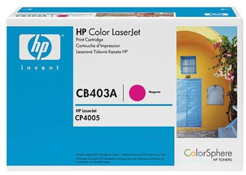 HP Color LaserJet CB403A Magenta Print Cartridge