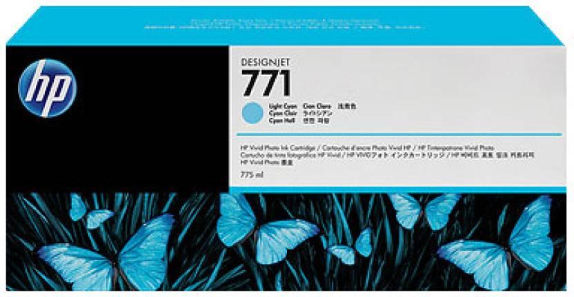 HP 771 3-pack Light Cyan Designjet Ink Cartridges