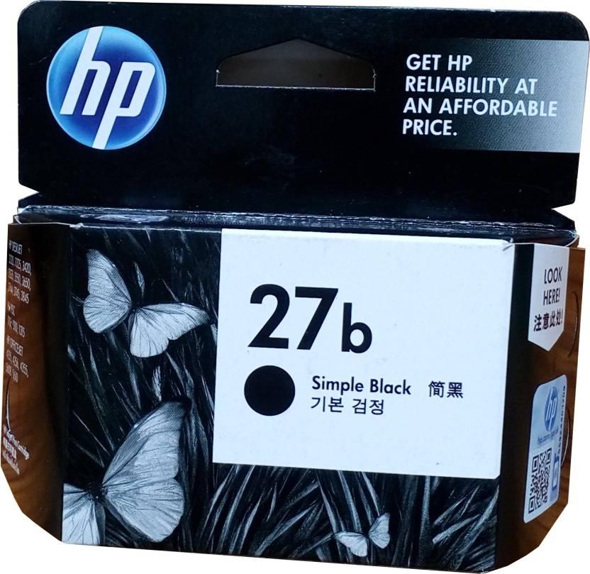 HP 27b Simple Black Ink Cartridge