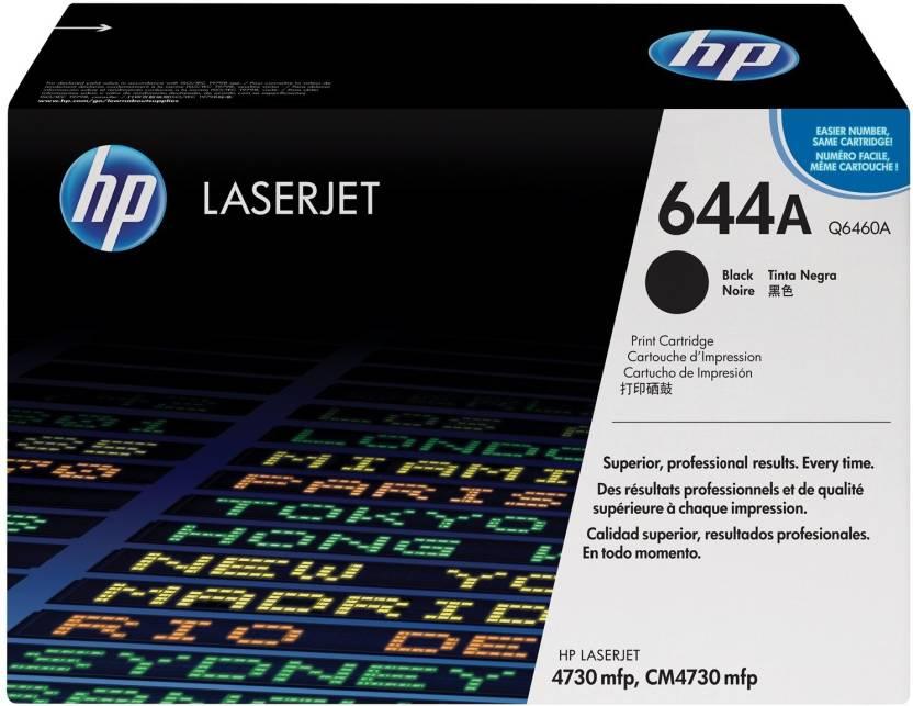 HP 644A Black LaserJet Toner Cartridge