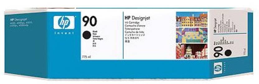 HP 90 3 pack 775 ml Black Ink Cartridges