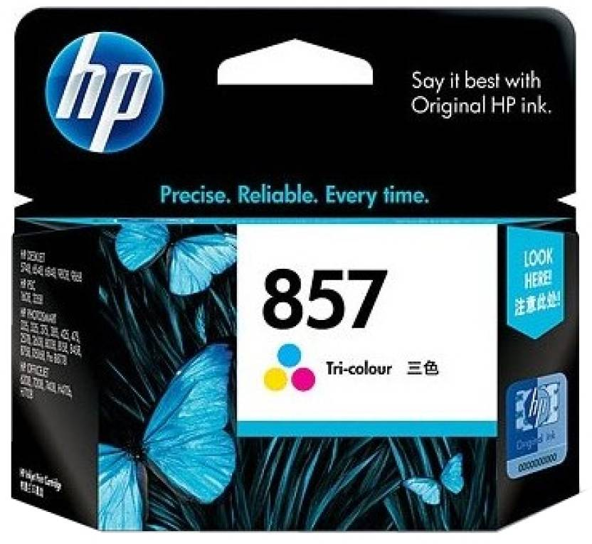 HP 857 Tricolor Ink Cartridge