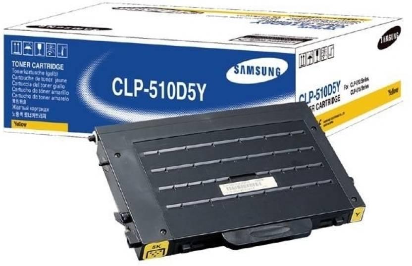 Samsung CLP 510D5Y Yellow Toner Cartridge
