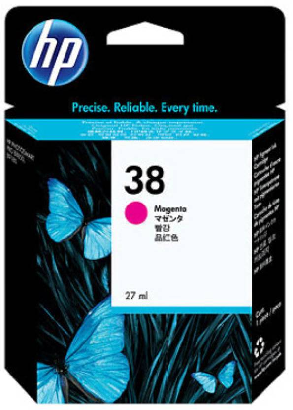 HP 38 Magenta Pigment Ink Cartridge