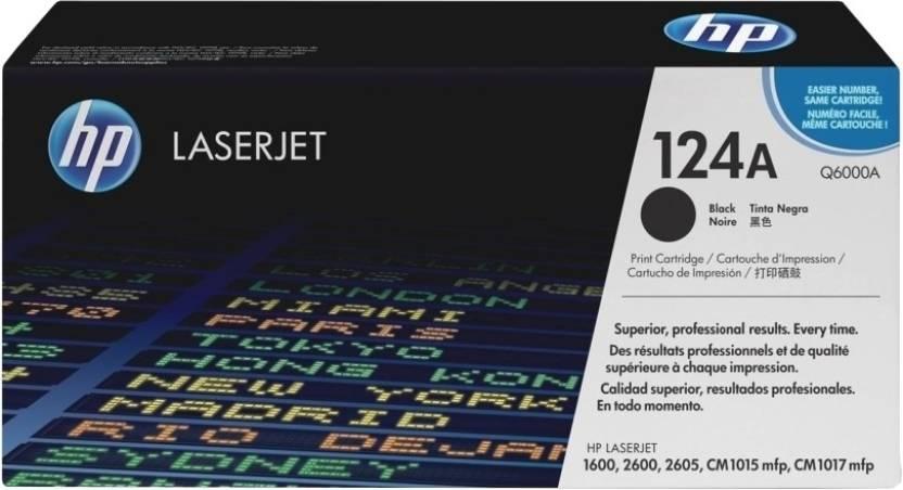 HP 124A Black LaserJet Toner Catridge