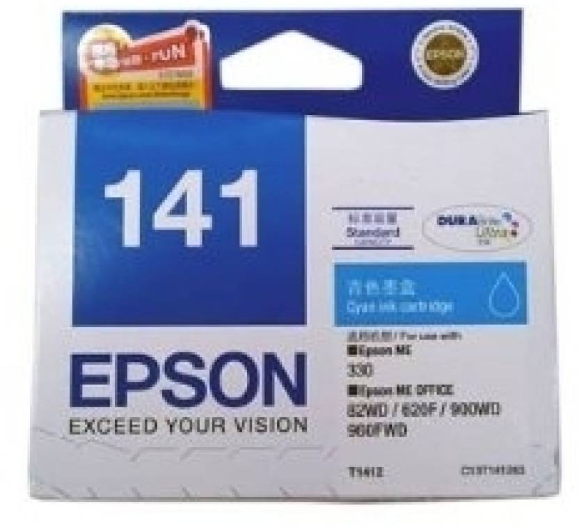 Epson 141 Cyan Ink cartridge C13T141290