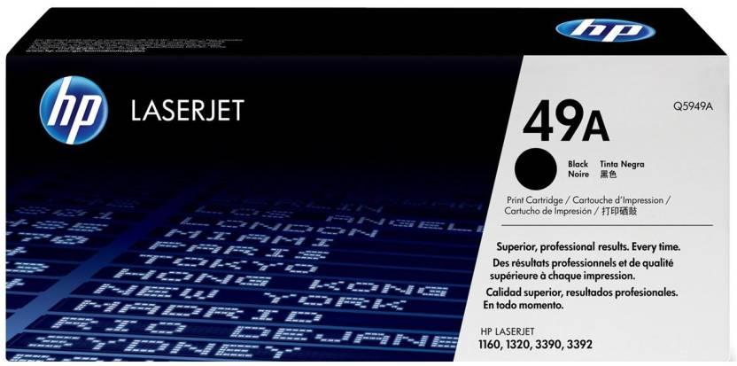 HP 49A Black LaserJet Toner Cartridge