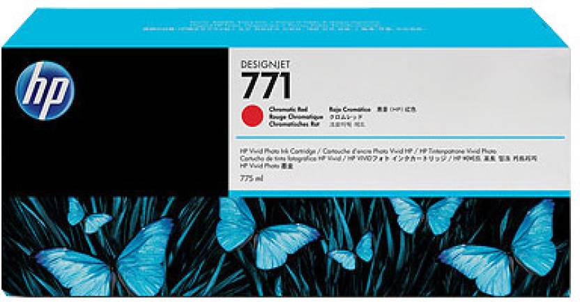 HP 771 775-ml Chromatic Red Designjet Ink Cartridge