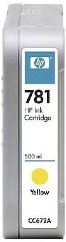 HP 781 500-ml Yellow Ink Cartridge