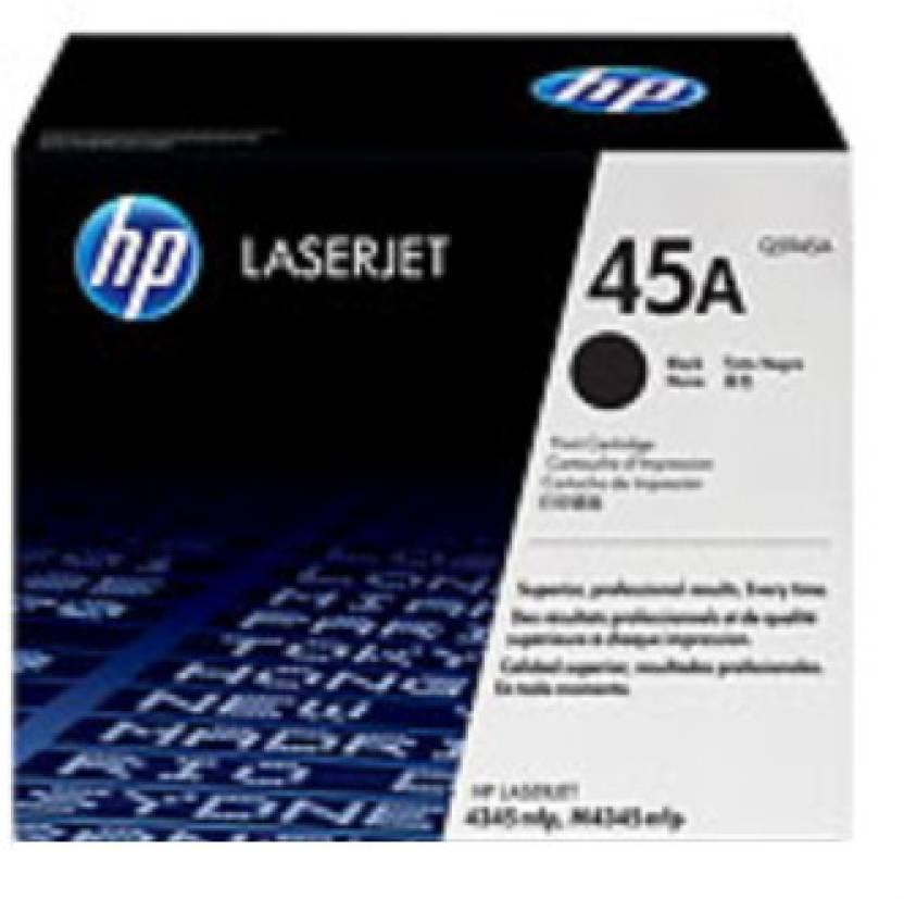 HP 45A Black LaserJet Toner Cartridge