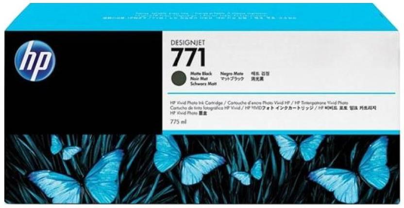 HP 771 775-ml Matte Black Designjet Ink Cartridge