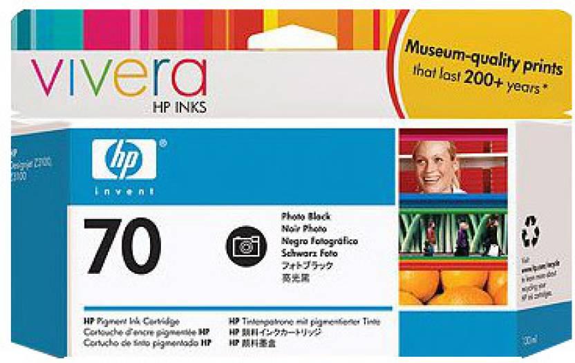 HP 70 Photo Black Ink Cartridge