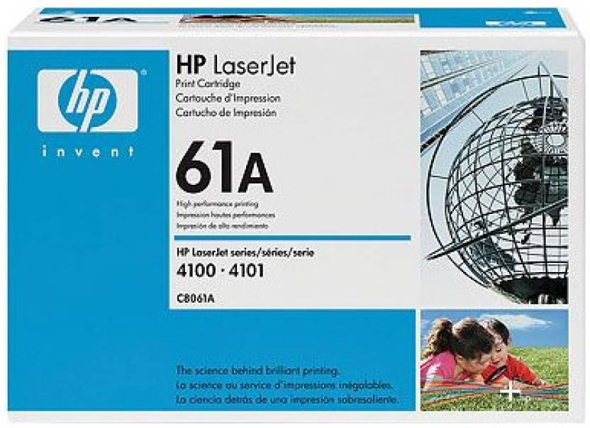 HP 61A Black LaserJet Toner Cartridge