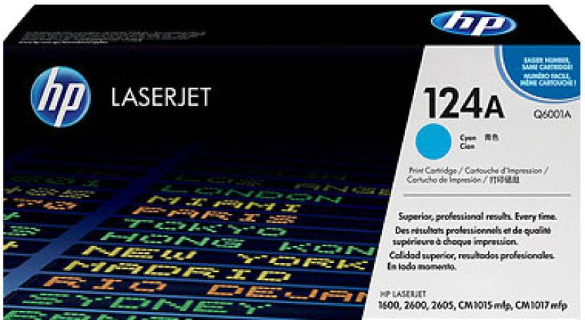 HP 124A Cyan LaserJet Toner Cartridge
