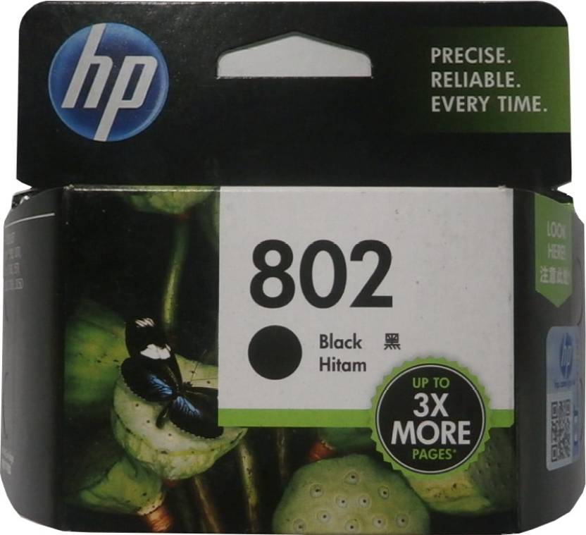 HP 802 Single Color Ink Cartridge