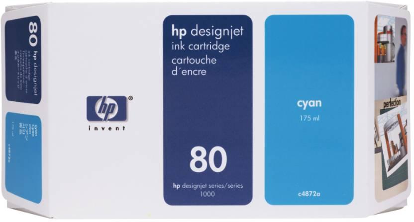 HP 80 175-ml Cyan Ink Cartridge