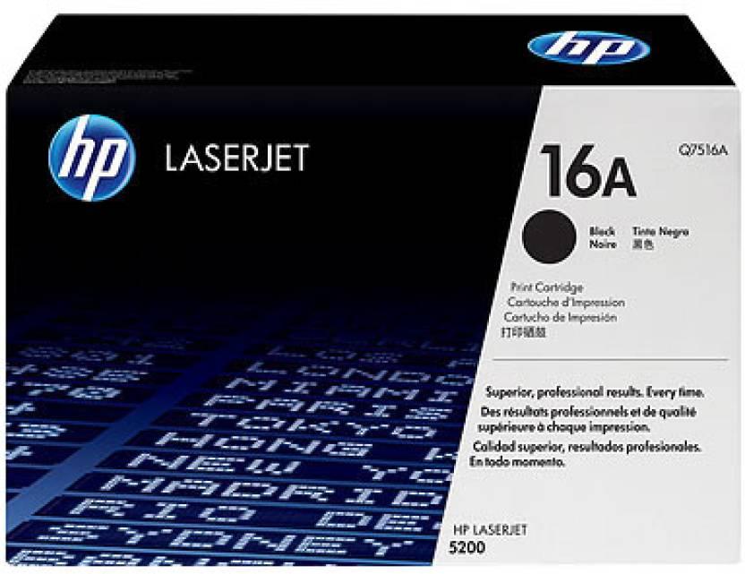 HP Q7516A Black Contract LaserJet Toner Cartridge