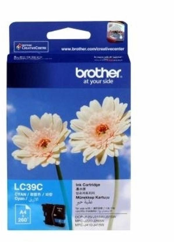 Brother LC 39C Ink cartridge