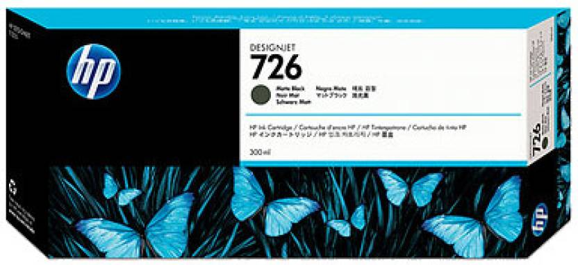 HP 726 300 ml Matte Black Designjet Ink Cartridge