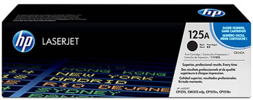 HP Color LaserJet 125A Black Toner Cartridge